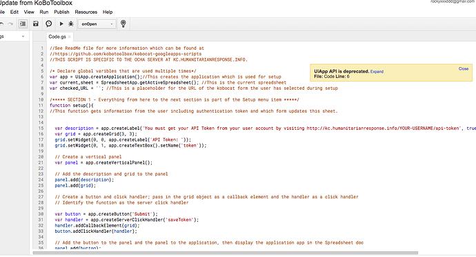 Kobotoolbox & Google sheet Sync - Data Management